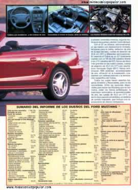 Ford Mustang - Junio 1995