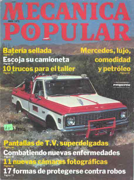 Mecánica Popular -  Abril 1979